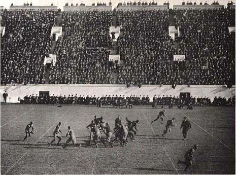 Penn at Harvard football game 1904