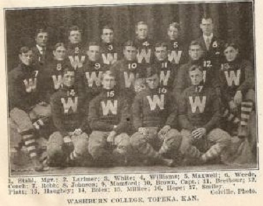 1907 Washburn football team