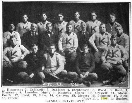 1908 Kansas football team