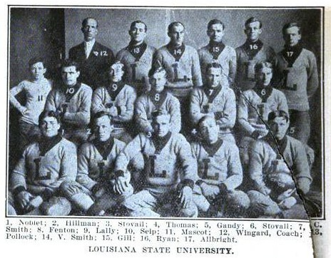 1908 LSU football team