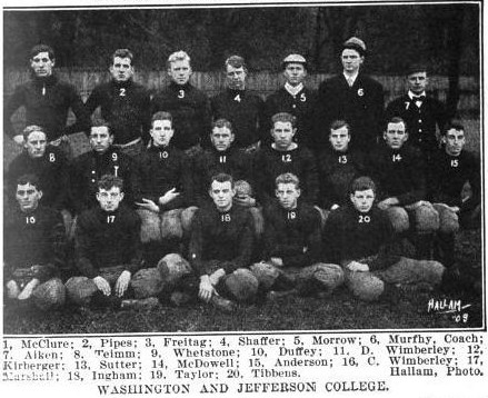 1908 Washington & Jefferson football team