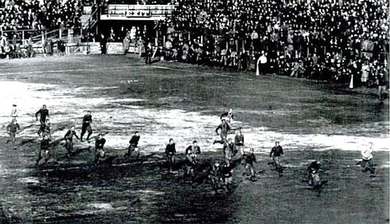 Sanford White touchdown for Princeton vs. Harvard 1911