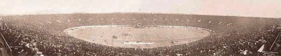 Yale Bowl on opening day, 1914
