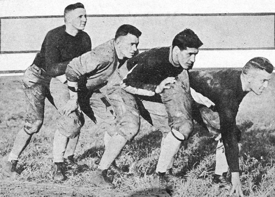 Georgia Tech's 1917 football backfield