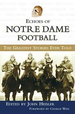 """Echoes of Notre Dame Football"" book cover"