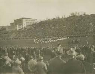 1926 game at Lafayette's new football stadium