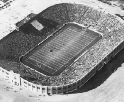 Notre Dame Stadium, dedication game against Navy October 11, 1930
