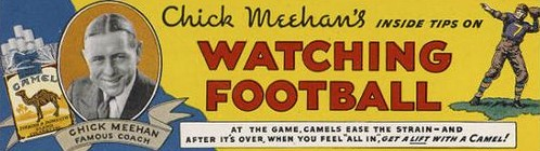 Chick Meehan Camel advertisement