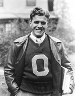 Ohio State end Wes Fesler