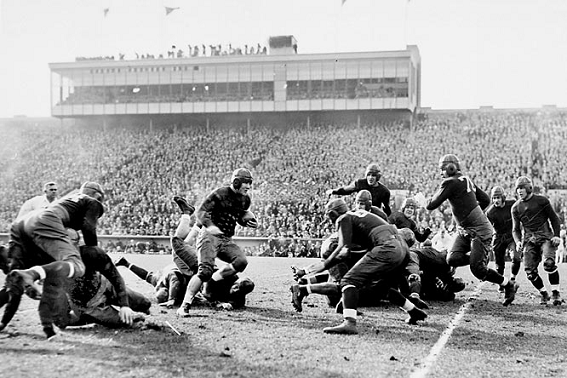 Southern Cal football game at Notre Dame, 1931