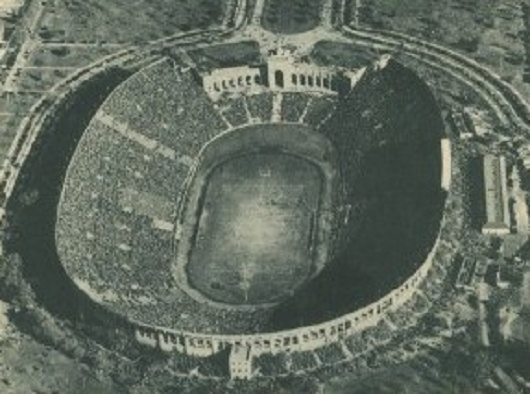 Los Angeles Memorial Coliseum, USC vs. Notre Dame 1932