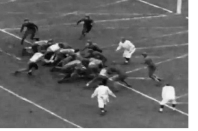 Northwestern's touchdown to beat Minnesota 6-0 in 1936