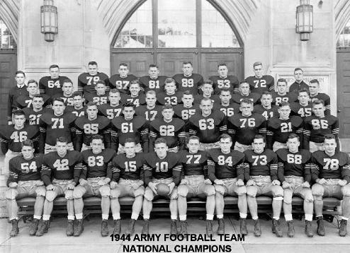 1945 army football statistics