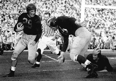 1948 Rose Bowl, Michigan vs USC