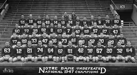 1947 Notre Dame football team