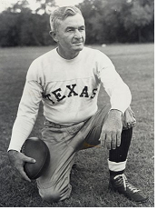 Texas football coach Blair Cherry