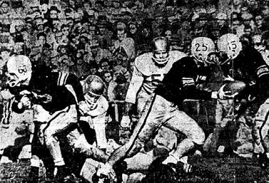 1958 Iowa-Notre Dame football game