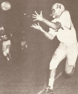 Johnny Robinson touchdown catch for LSU against Alabama in 1958