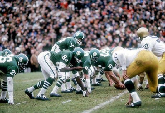 1966 football game, Notre Dame vs. Michigan State