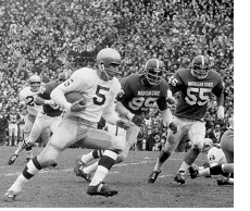 1966 Game of the Century, Notre Dame vs. Michigan State