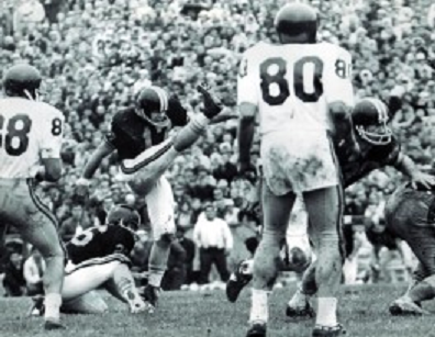 Oregon State field goal to beat Southern Cal 3-0 in 1967