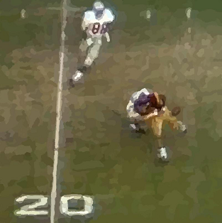 OJ Simpson fumble in the 1969 Rose Bowl