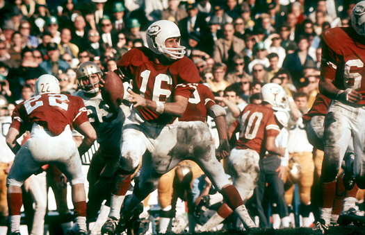 Texas vs. Notre Dame in the 1970 Cotton Bowl