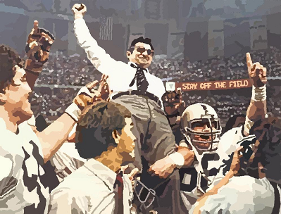 Joe Paterno and Penn State celebrate the 1982 national championship