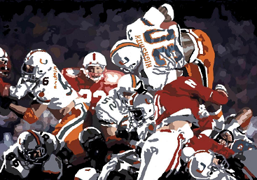 1984 Orange Bowl, Miami vs. Nebraska