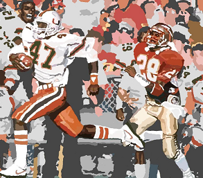 1987 Miami's Michael Irvin 73 yard touchdown against FSU
