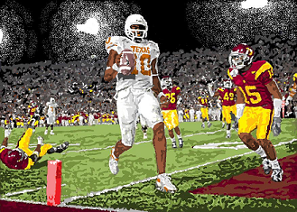 Vince Young winning touchdown against USC