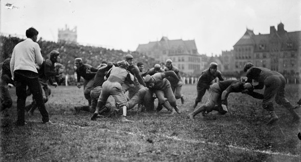 Michigan vs. Wisconsin in Chicago in 1902