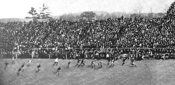 John DeWitt's touchdown return of a blocked kick for Princeton against Yale in 1903
