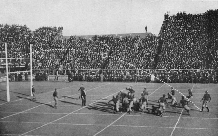 Harvard game winning field goal against Yale in 1908